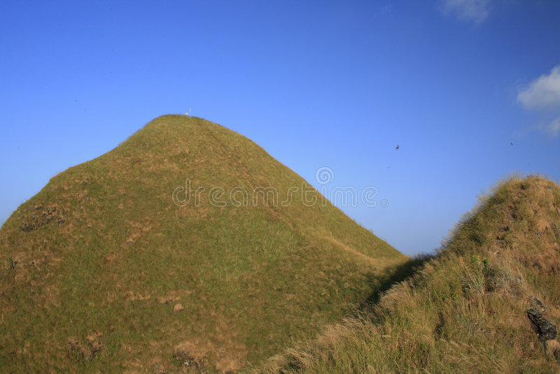 Bovenkant van heuvel royalty-vrije stock fotografie