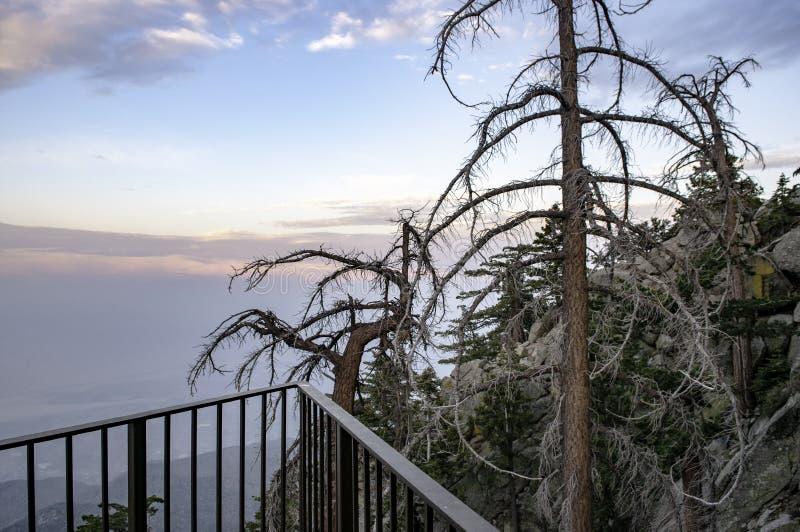 Bovenkant van Mountain View, stock afbeeldingen