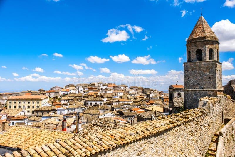 Bovino - επαρχία του Foggia - περιοχή Apulia - Ιταλία στοκ εικόνες με δικαίωμα ελεύθερης χρήσης