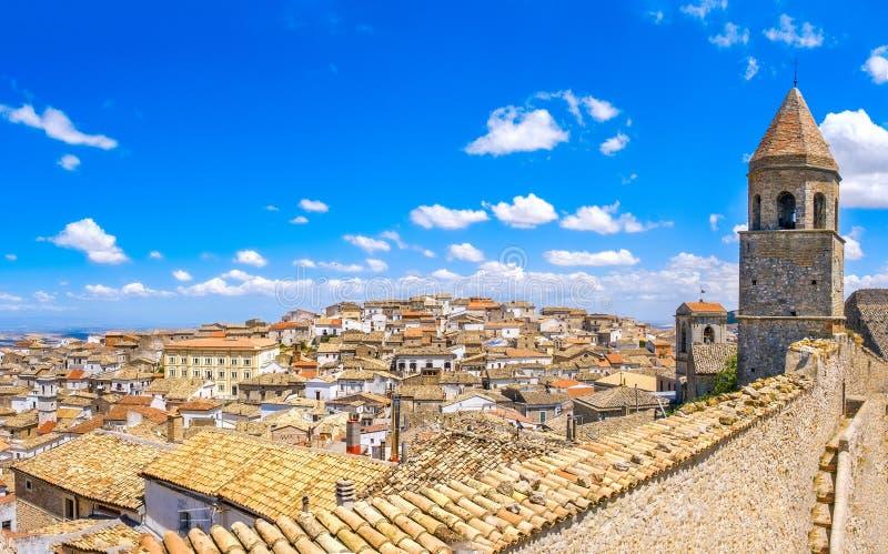 Bovino gargano wioska - Foggia apulia Włochy w I Borghi pià ¹ Belli d& x27; Italia & x28; Piękne wioski obrazy royalty free