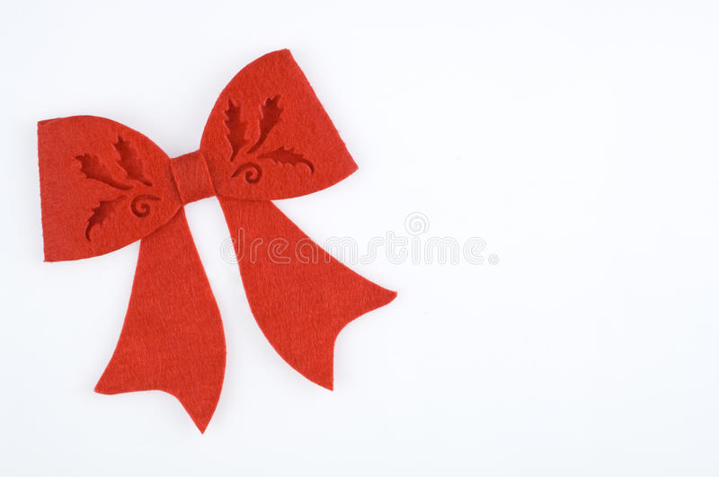 Download Bow stock image. Image of craft, double, christmas, ribbon - 17436153