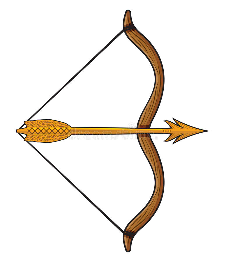 Free Bow And Arrow Royalty Free Stock Image - 40232746