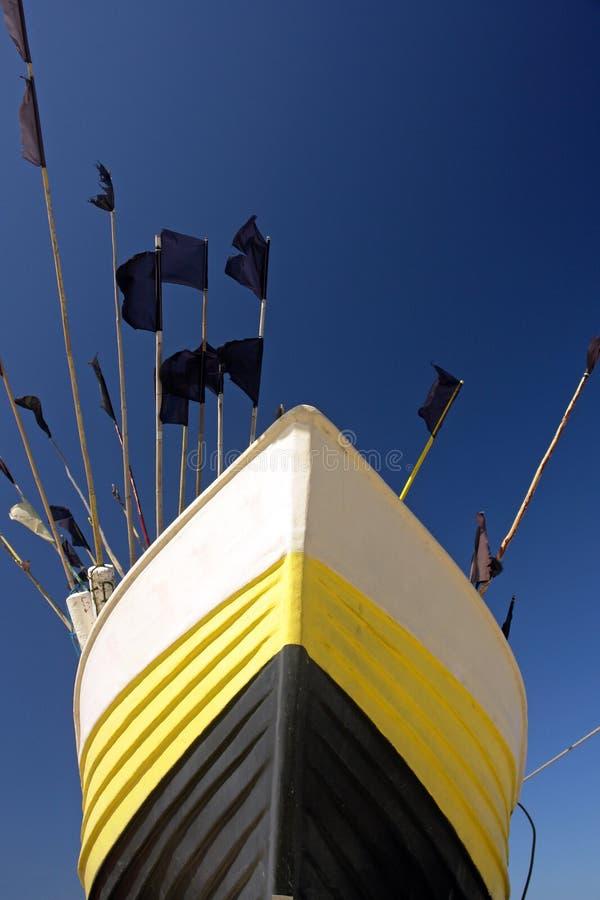 Bow of boat royalty free stock photos