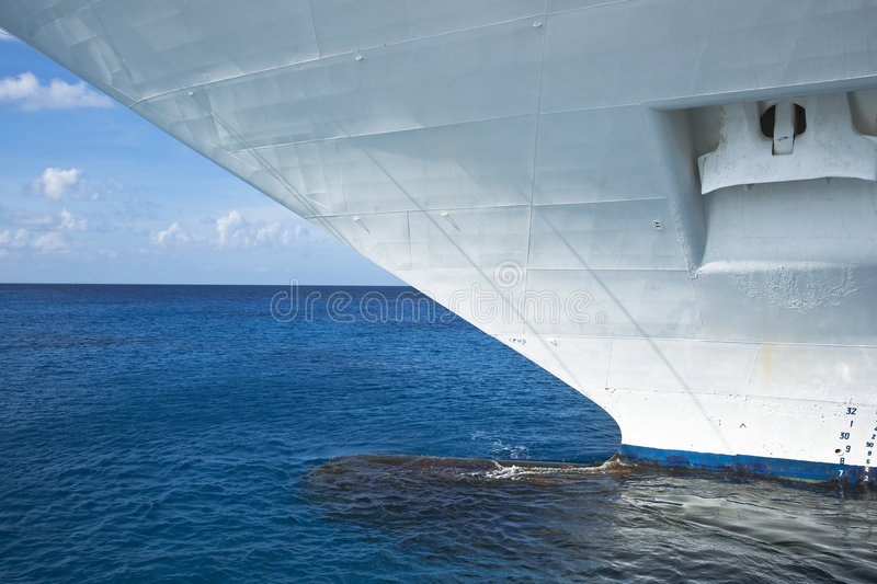 Download Bow of a Cruise Ship stock photo. Image of cruising, vacation - 7809258