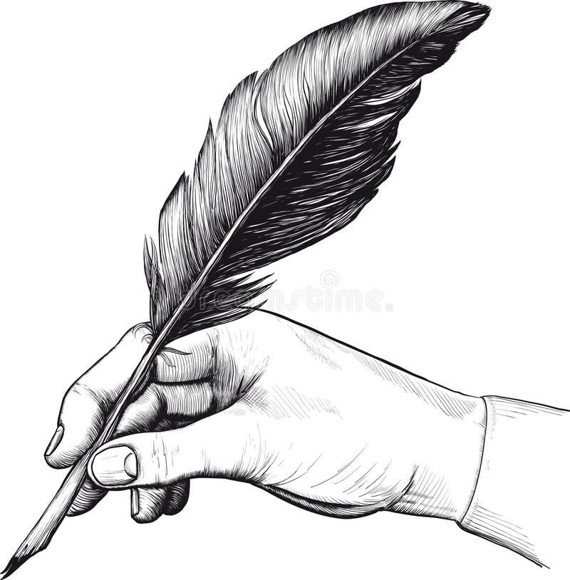Bow_hand (24) .jpg illustration de vecteur