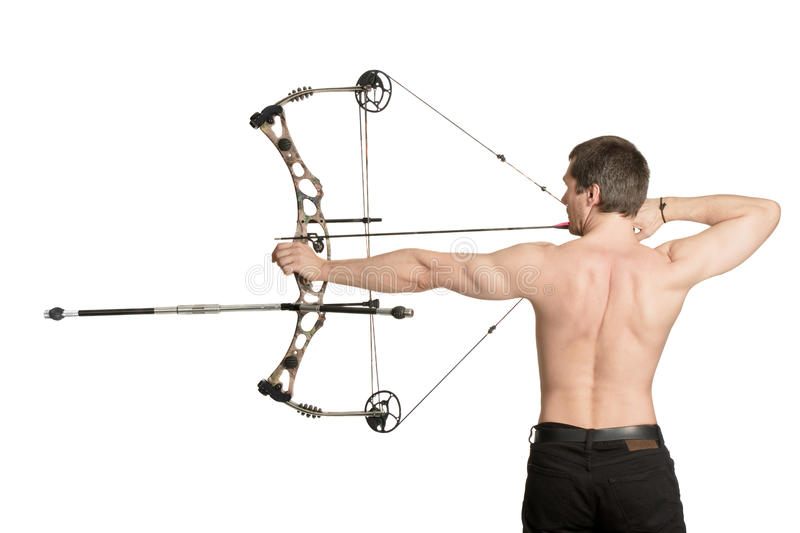 Download Bow-hunter stock photo. Image of conflict, archery, pursuit - 11764418