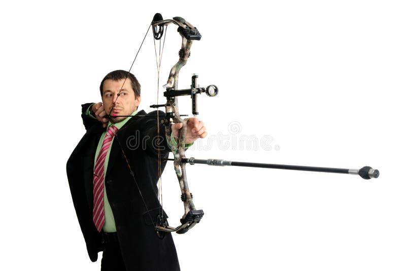 Bow-hunter Royalty Free Stock Photos