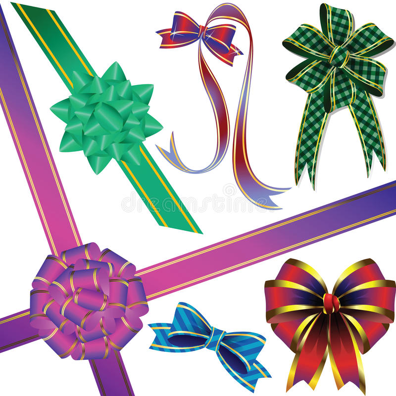 Download Bow-knot stock vector. Illustration of present, decorative - 13513177