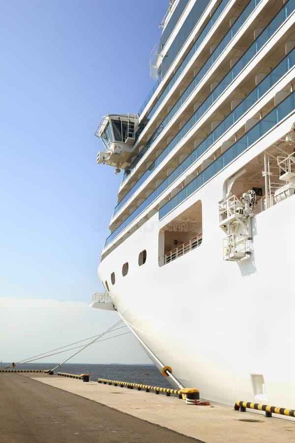Bow Part Of Cruise Ship Royalty Free Stock Photos