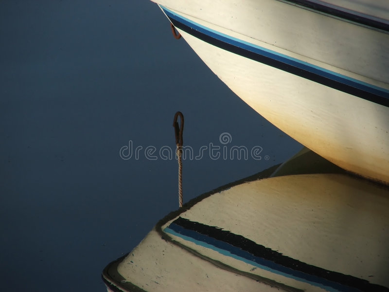 Bow Reflection royalty free stock photography