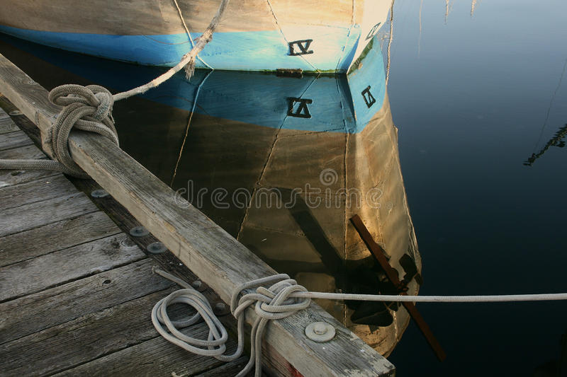 Bow Reflection stock images