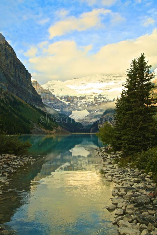 Bow River Banff National Park Alberta Canada royalty free stock image