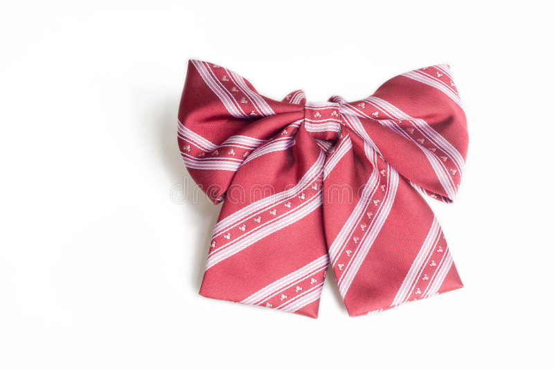 Bow tie. A bow tie can be a good accessory to women's dressing royalty free stock photos