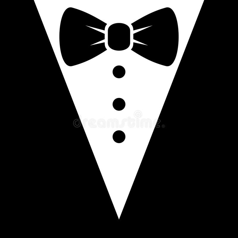 Bow tie and black suit icon vector stock vector illustration of download bow tie and black suit icon vector stock vector illustration of glamour publicscrutiny Gallery