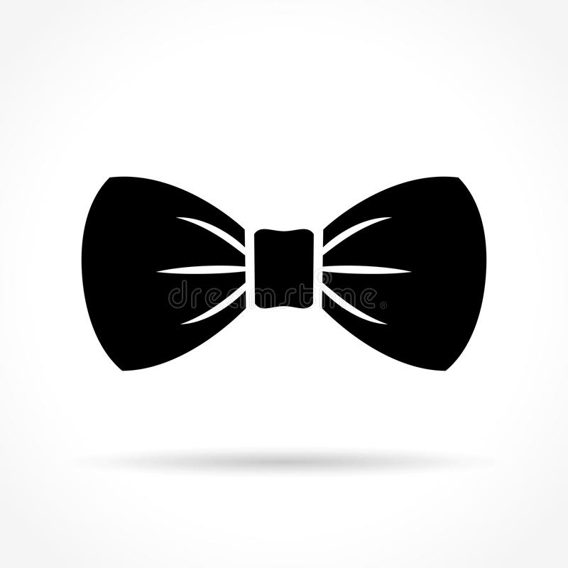Bow tie icon. Illustration of bow tie icon on white background stock illustration
