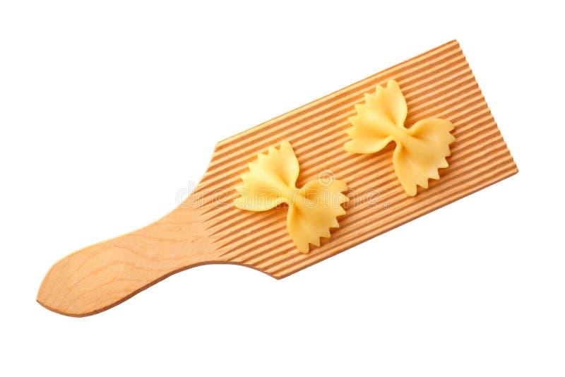 Bow tie pasta stock photos