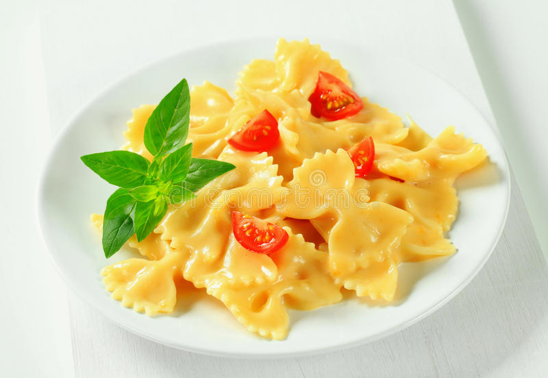 how to make bow tie pasta