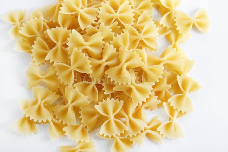 Bow tie pasta stock image