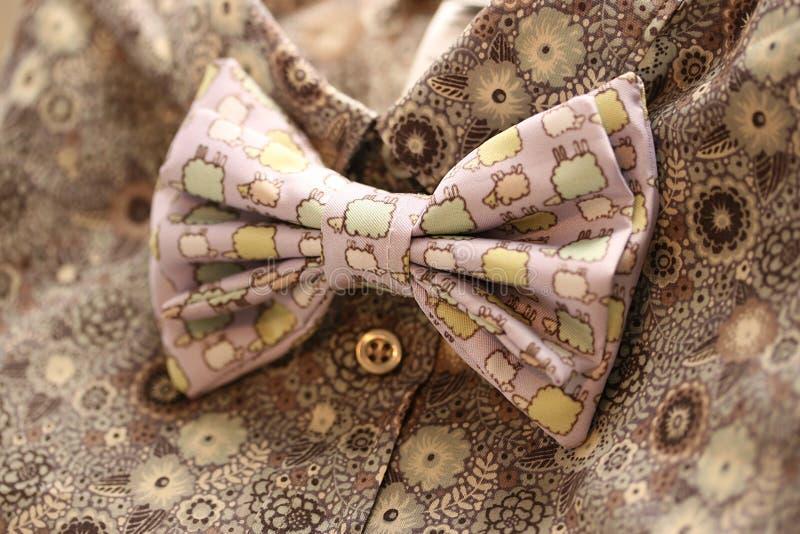 Bow tie, retro style royalty free stock photo