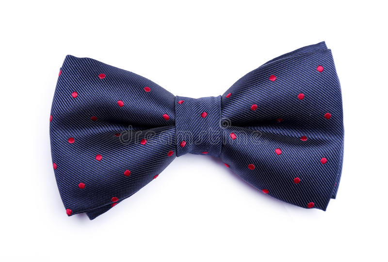 Bow tie. On a white background royalty free stock image