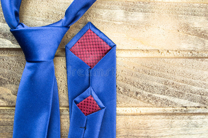 Bow tie on a wooden background royalty free stock images