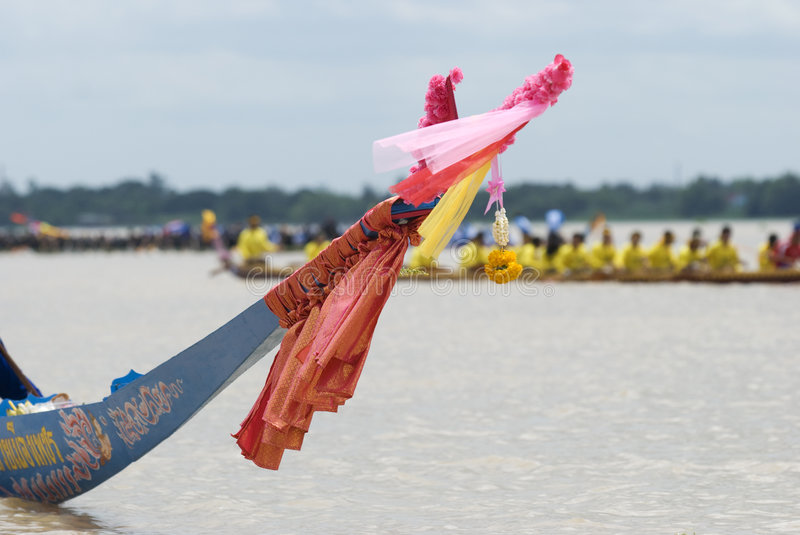 Download Bow Of Traditional Thai Longboat Editorial Image - Image: 6419540