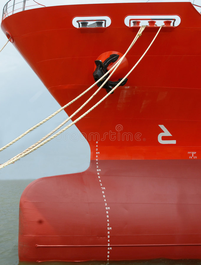 bow of a vessel royalty free stock photos
