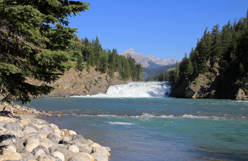 Download Bow Waterfall stock image. Image of river, outdoor, nature - 43463423