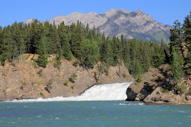 Download Bow Waterfall stock image. Image of stream, peak, nature - 43463485