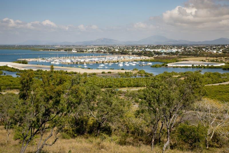 Bowen Harbour, Queensland stock image