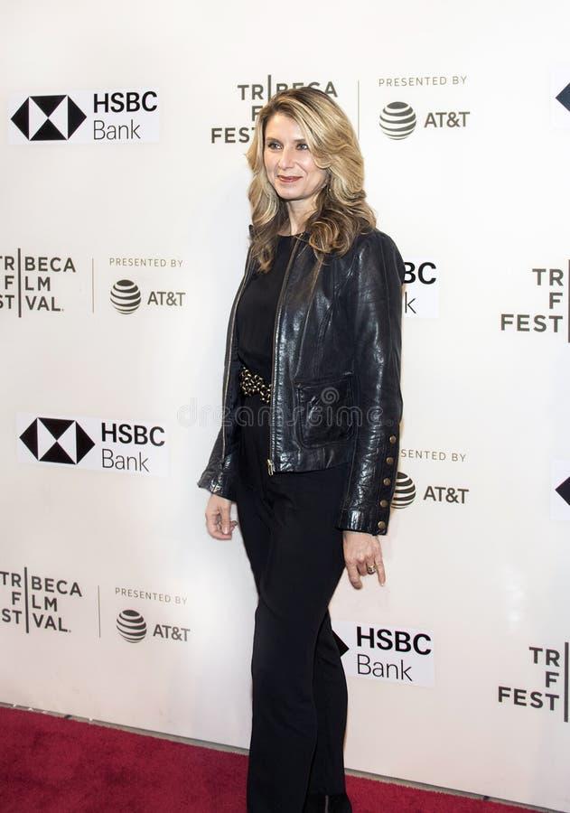 Bowers Nadia на фестивале фильмов 2018 Tribeca стоковая фотография rf
