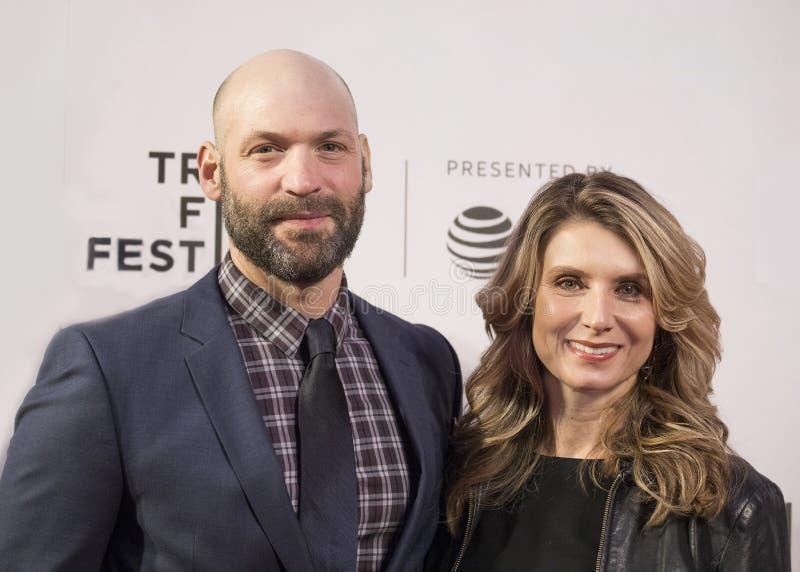 Bowers Nadia на фестивале фильмов 2018 Tribeca стоковые фото