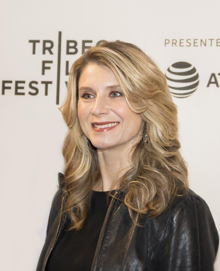 Bowers Nadia на фестивале фильмов 2018 Tribeca стоковая фотография