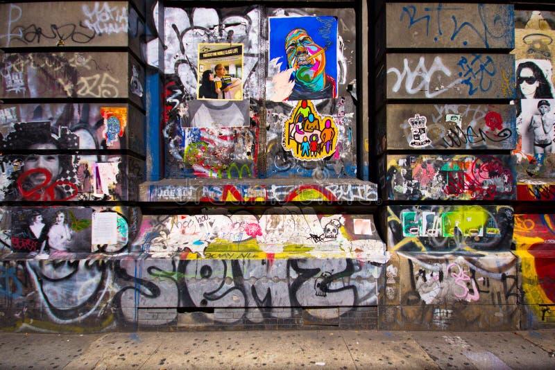 Download Bowery NYC Graffiti Editorial Image - Image: 26812865