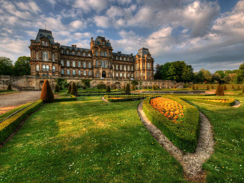 Bowes Museum stock images