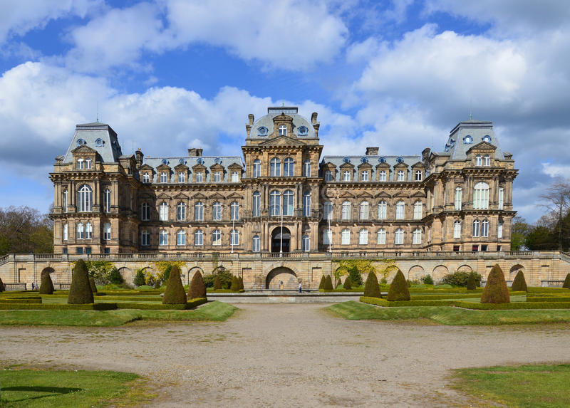 Bowes Museum royalty free stock photography