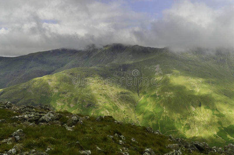Bowfell obrazy royalty free