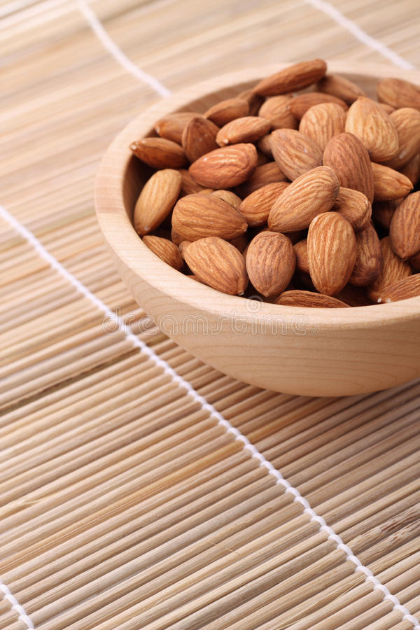 Download Bowl of almonds stock image. Image of container, selective - 14056855