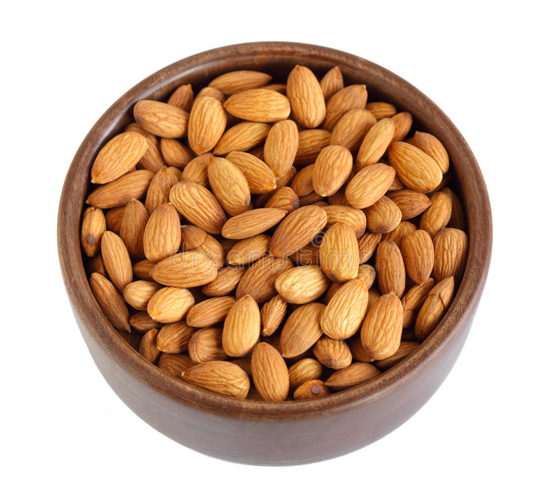 Download Bowl of Almonds stock image. Image of beautiful, nutrition - 23000141