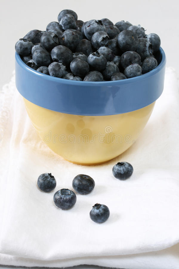 Download Bowl of Blueberries stock image. Image of super, bowl - 18205263