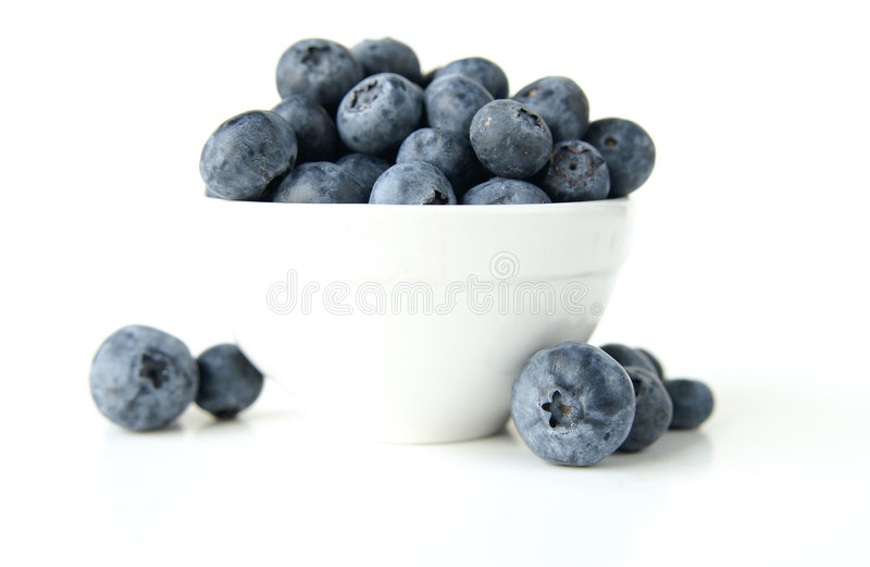 Download Bowl Of Blueberries Royalty Free Stock Photos - Image: 2531948