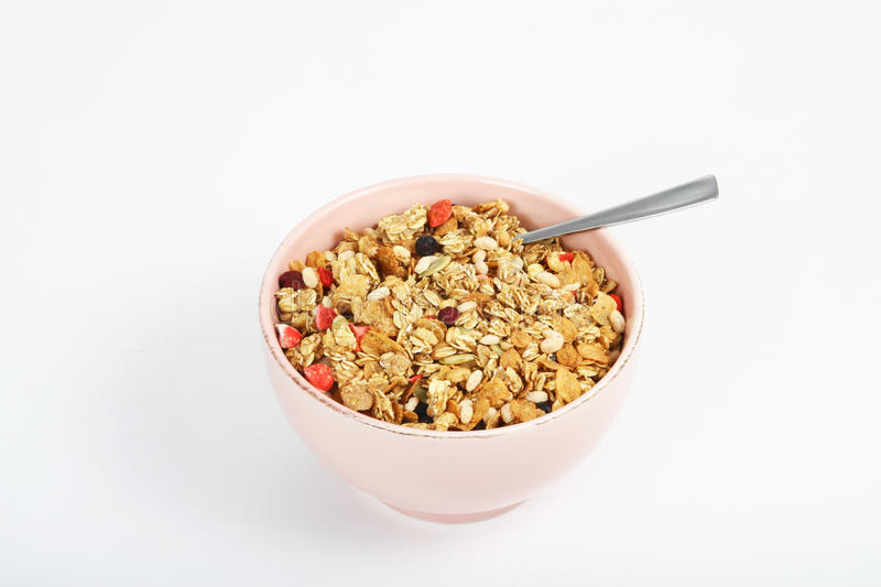 Bowl of cereal stock images
