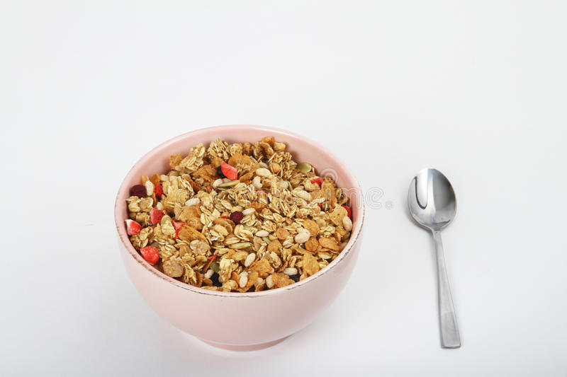 Download Bowl of cereal stock photo. Image of grain, breakfast - 21739462