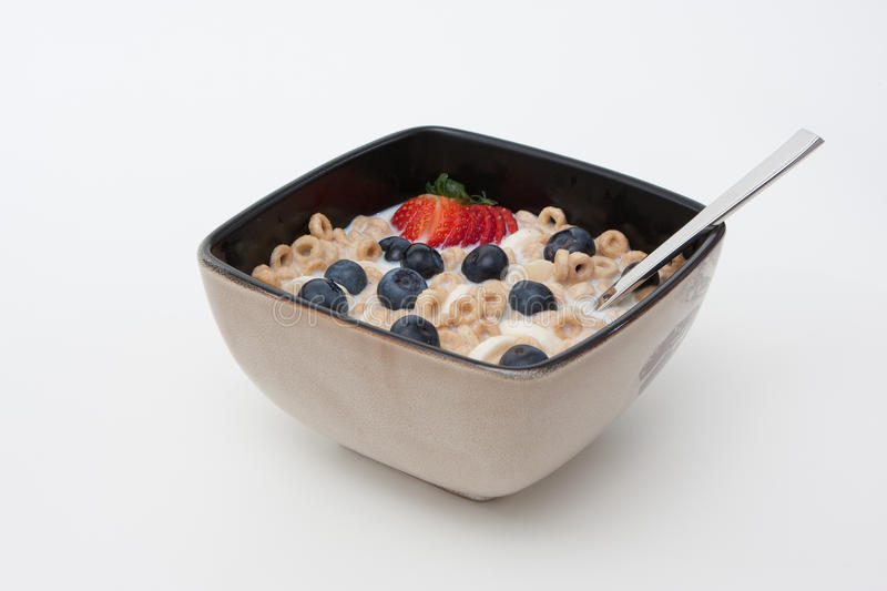 Download Bowl of Cereal and fruits stock image. Image of banana - 16419523