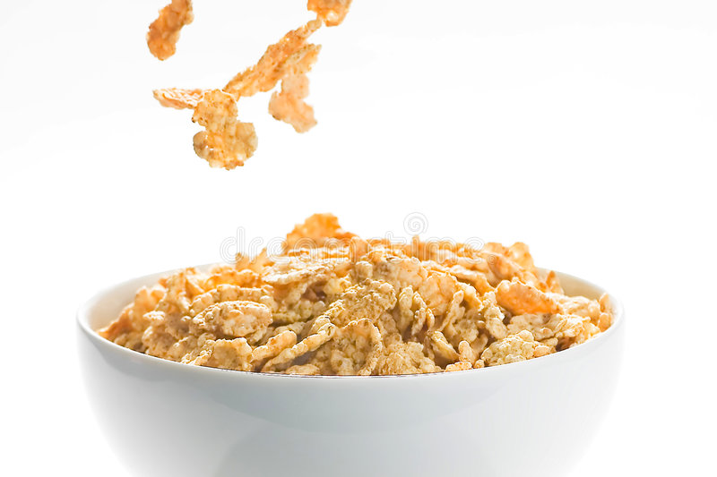 Download Bowl Of Cereal With Raisins Stock Photo - Image: 7747890