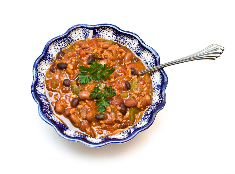 Download Bowl Of Chili Stock Images - Image: 11365404