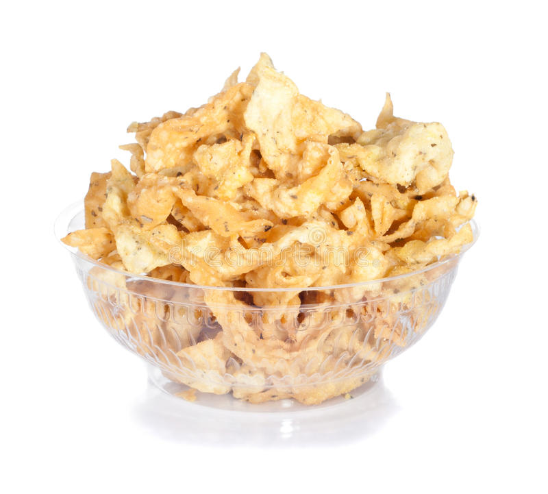 Download Bowl of chips stock image. Image of calories, crispy - 19922589