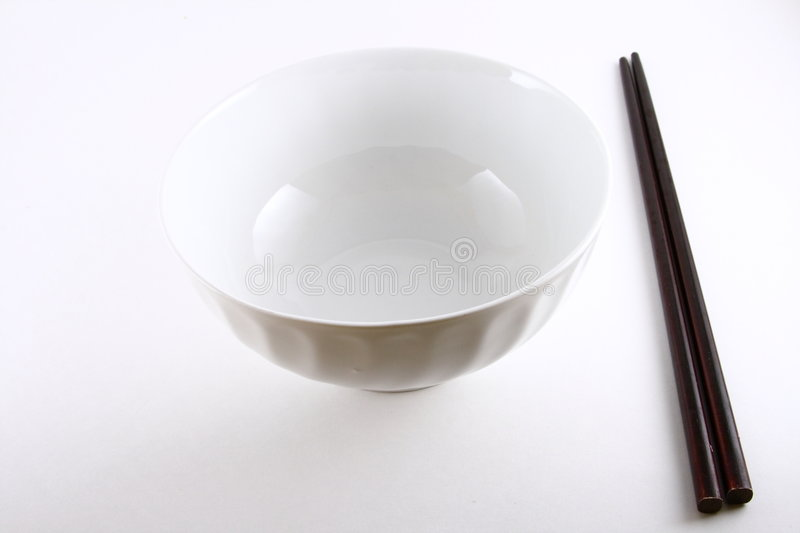 Download Rice bowl and chopsticks stock image. Image of pair, culinary - 5258663