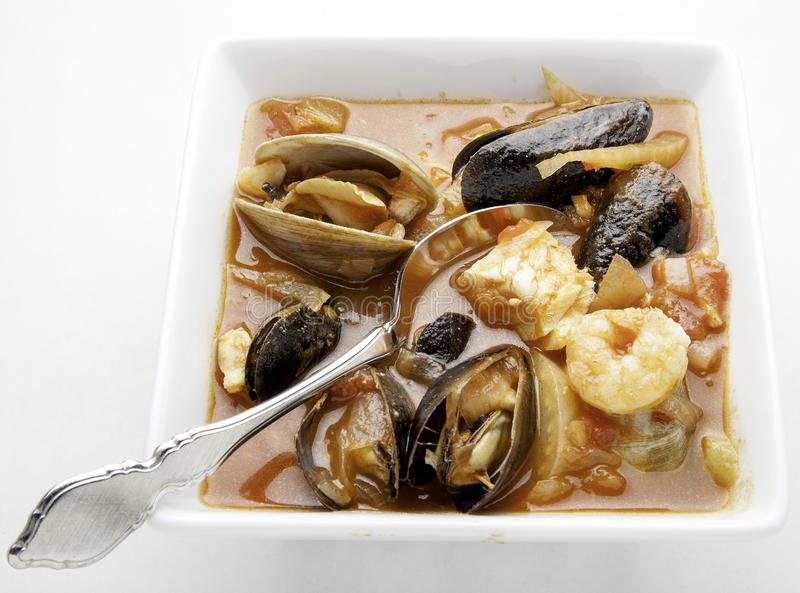Download Bowl of cioppino stock photo. Image of clams, mussels - 39506816