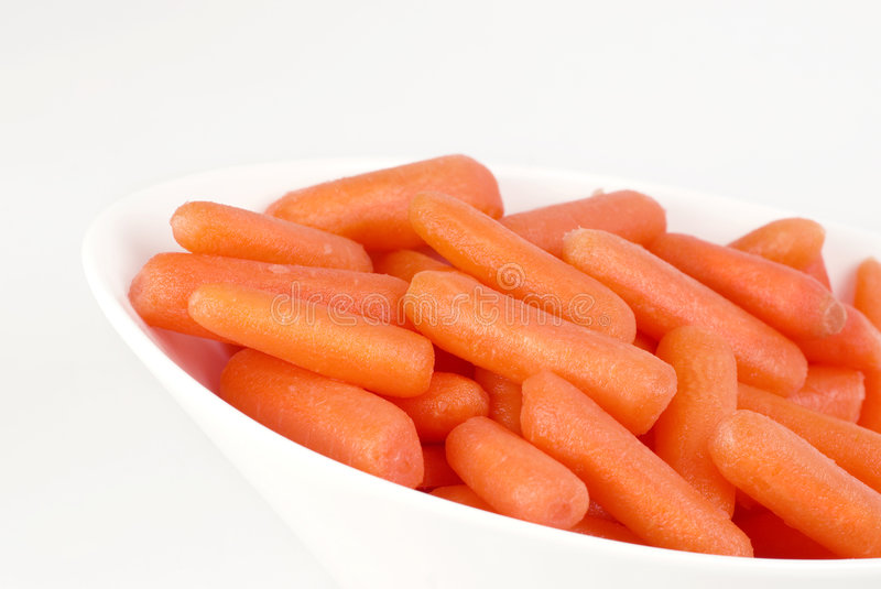 Download Bowl Of Colorful Fresh Baby Carrots Stock Photo - Image of healthy, carrots: 8142720